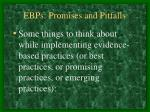 ebps promises and pitfalls11