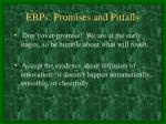 ebps promises and pitfalls13
