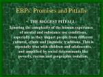 ebps promises and pitfalls17