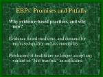 ebps promises and pitfalls2