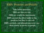 ebps promises and pitfalls20