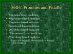 ebps promises and pitfalls6