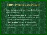 ebps promises and pitfalls9