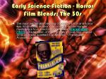 early science fiction horror film blends the 30s