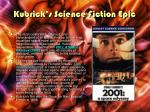 kubrick s science fiction epic