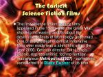 the earliest science fiction films1