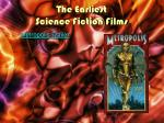 the earliest science fiction films3