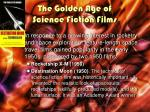 the golden age of science fiction films