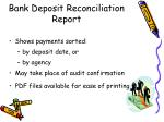 bank deposit reconciliation report1