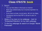 class 478 578 book