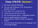 class 478 578 general 1