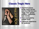classic tragic hero