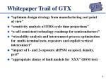 whitepaper trail of gtx