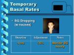 temporary basal rates10