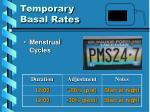 temporary basal rates5