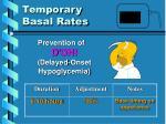 temporary basal rates7
