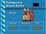 temporary basal rates8