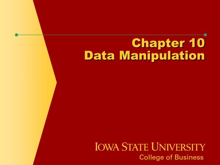 chapter 10 data manipulation n.