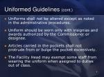 uniformed guidelines cont2