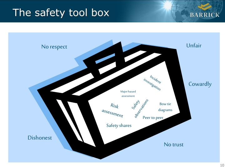 The safety tool box