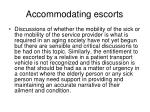 accommodating escorts