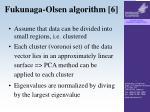 fukunaga olsen algorithm 6