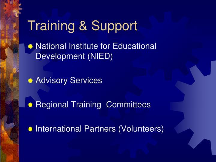 Training & Support