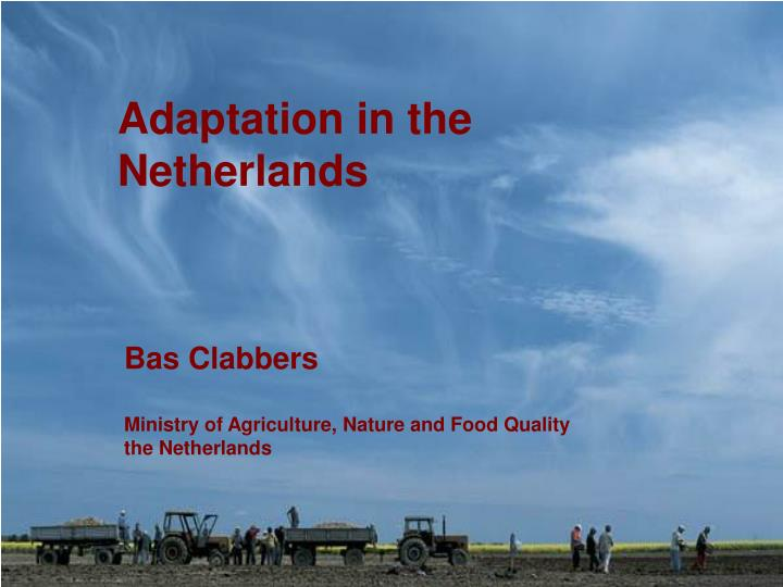 adaptation in the netherlands n.