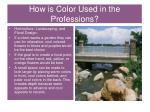 how is color used in the professions2