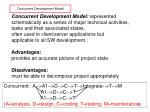 concurrent development model