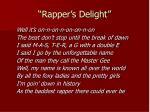 rapper s delight2