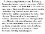 alabama agriculture and industry