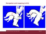 navigation and mapping cnt d