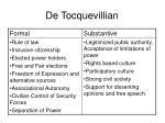 de tocquevillian