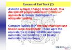 essence of fast track 2