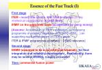 essence of the fast track i