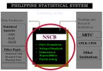 philippine statistical system8