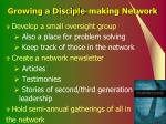 growing a disciple making network