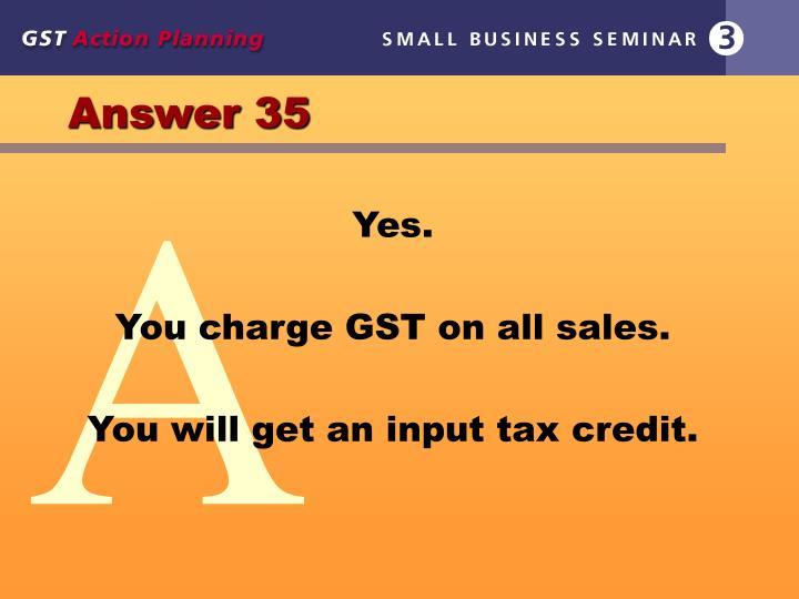 Answer 35