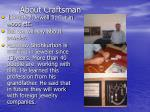 about craftsman