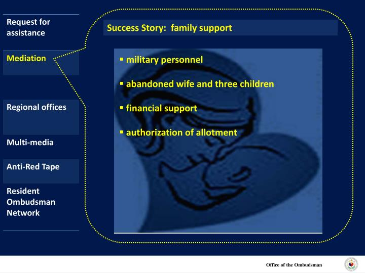 Success Story:  family support