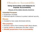 obstacles to accountability4