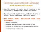 proposed accountability measures3