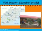 fort beaufort education district