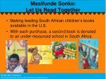 masifunde sonke let us read together