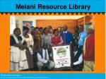 melani resource library