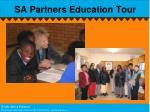 sa partners education tour