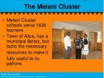 the melani cluster