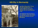 489 bty in normandy1