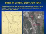 battle of lentini sicily july 1943